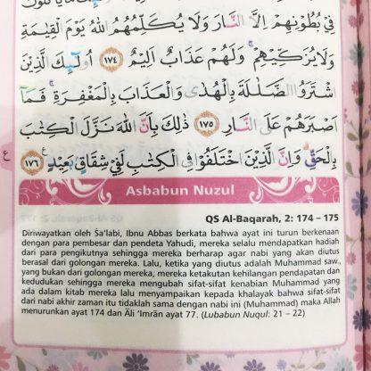 Mushaf Wanita Al-Quran Yasmina Ukuran A6