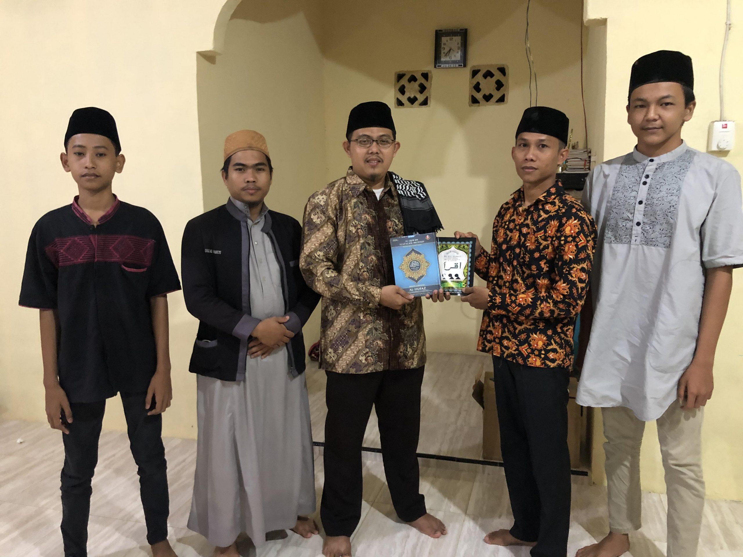 Laporan Penyaluran Wakaf Al-Qur'an ke Desa Rumbio, Kec. Kampar, Kab. Kampar (23/11/2020)